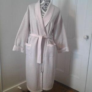 Laura Ashley robe loungewear women pink grey